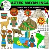 Aztec Inca Mayan Clip Art