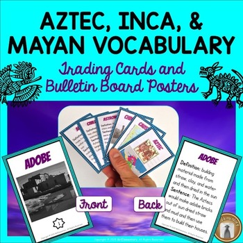 aztec vocabulary language These cards are great for a core knowledge word wall or bulletin board they may also be used in a variety of centers, such as a writing center, vocabulary center, or.
