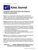 Aztec Journal Group Activity Project