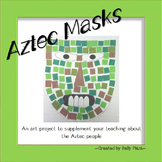 Aztec Art - Masks