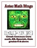Aztec Math Bingo!  Los Números Aztecas!  Great Native Amer