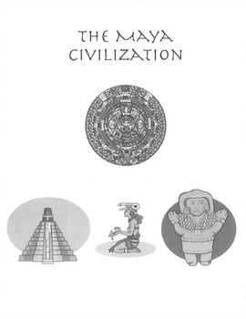 Aztec, Maya, Inca Tribe Interactive Notebook Lesson Social Studies