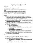 Aztec, Mayans and Spanish Unit Plan