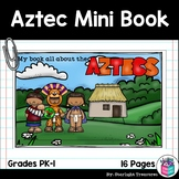 Aztec Mini Book for Early Readers - Ancient Civilizations Activities