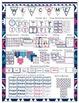 Aztec Navy & Pink Print Classroom Bundle