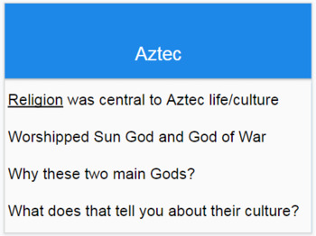 Aztec Power Point (28 slides)