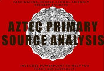 Aztec Primary Source Analysis