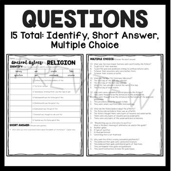 Aztec Religions and Gods, Mesoamerica, Ancient Civilizations, Aztecs