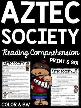 Aztec Society, Mesoamerica, Ancient Civilizations, Aztecs