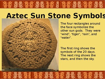 Aztec Sunstone Powerpoint Elementary