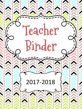 Aztec Arrows Tribal Teacher Binder Covers *65 Covers*- Editable Lifetime Product