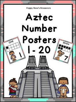 Aztec Themed Number Posters