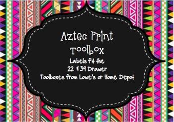 Aztec Toolbox Labels-Rainbow