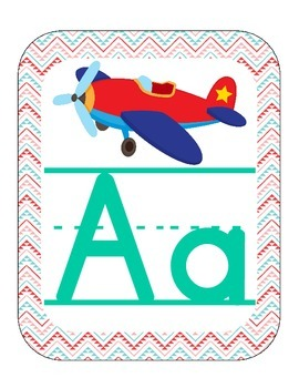Aztec Turquoise & Red ABC Printables (with pictures)