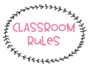 Whole Brain Teaching Classroom Rules - Tribal
