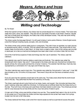 Aztec Writing and Technology