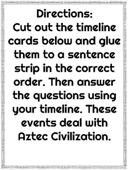 Aztec and Maya Civilization Timeline