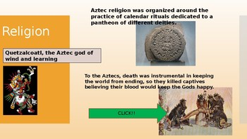 Aztec and Spanish PowerPoint
