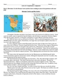 Aztecs, Conquistadors, and Cortes 4 part Assignment