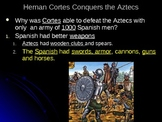 Aztecs,Incas,Conquistadors, Columbian Exch. Freedom Fighters PPT(Optional Notes)