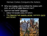 Aztecs,Incas,Conquistadors, Columbian Exch. Freedom Fighte