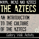 Aztecs Gallery Walk Activity for an Introduction to the Az