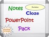 Aztecs PowerPoint Presentation, Notes and Cloze Worksheets
