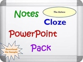 Aztecs PowerPoint Presentation, Notes and Cloze Worksheets