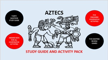 Aztecs: Study Guide and Activity Pack