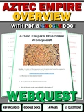 Aztecs - Webquest with Key (PDF and Google Doc Included)