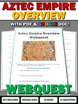 Aztecs - Webquest with Key (History.com)