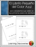 Azul, Librito de Escribir en Español - Little Book to Writ