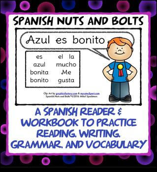 Azul es bonito: A beginning Spanish workbook/reader