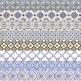 Azulejos Borders, Portuguese Tiles, Ornamental Patterns, Mosaic Borders