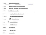 C- Upper elementary music terms POWER POINT PRESENTATION