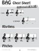 B A G Composition Template & Cheat Sheet
