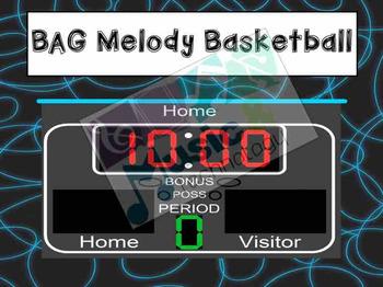 B-A-G Melody Basketball