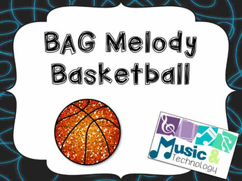B-A-G Melody Basketball for PowerPoint