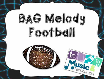 B-A-G Melody Football