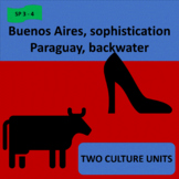 Buenos Aires, sophistication (1) / Paraguay, backwater (2) - SP Intermediate. 2
