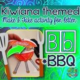B = BBQ {Kiwiana Themed 'Make & Take' Alphabet Set}