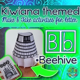 B = BEEHIVE {Kiwiana Themed 'Make & Take' Alphabet Set}