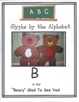 """(B) """"Beary"""" Glad to See You Glyph"""