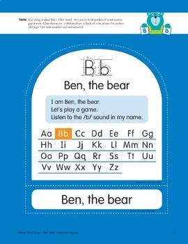 B: Ben, the Bear