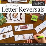 Letter Confusion Cards - b + d, p + q Letter Reversals