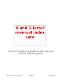 B/D Letter Reversal Tips