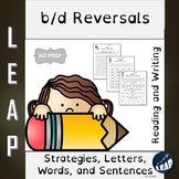 B/D Reversals - Strategies, Teaching Practices, Letter Id,