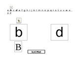 B/D differentiation, Sorting Mat and Worksheets