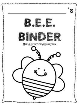B.E.E. Binder
