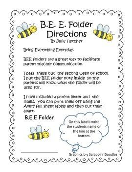 B. E. E. folder